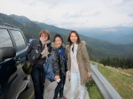 Stop off for scenic views & photos during mountain drive in the BucegiMountains