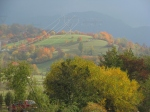 Sweet October colors in Bran rural area, Transylvania