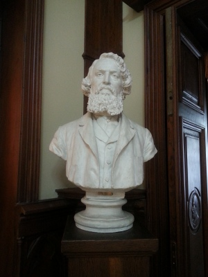 Theodor Aman bust by Karl Storck