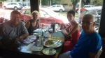 Lunch with Penny and Michael during Bucharest citytour