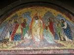 Mosaic Christ's Descent into Hell Casin ChurchBucharest