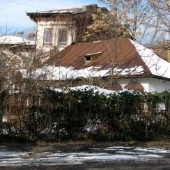 Porch House, Armenian neighborhood, central-eastern Bucharest