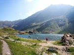 Balea Lake, CarpathianMountains