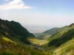 Transfagarasan Highway view toTransylvania