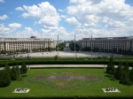 Bucharest, view from the Palace ofParliament
