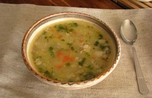 Ciorba de miel - Lamb soup