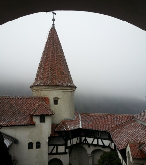 Gloomy day at Bran Castle