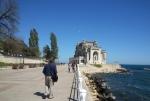 Sea front promenade and the iconic Casino ofConstanta