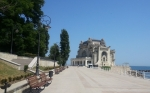 Constanta seaside promenade, view toCasino