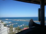 Top view to the sea from the Great Mosque ofConstanta