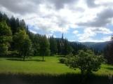 The splendor of early summer at Peles Castle
