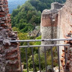 View from Poienari Citadel