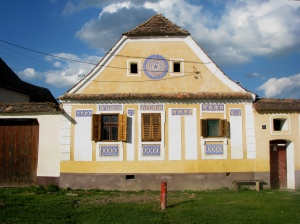 Saxon house in the village of Crit, Transylvania