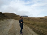 Excitement during trip in Bucegi mountains