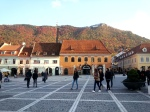 October afternoon in the old town ofBrasov