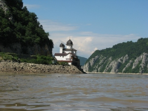 Mraconia Monastery Danube Kazan Gorge