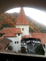 October colors at Bran Castle