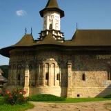 Sucevita Monastery, a UNESCO site -Bukovina, Romania