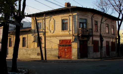 Corner house Bucharest