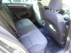 My 2017 Volkswagen Golf rear seats