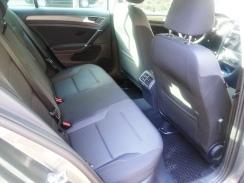 My 2017 Volkswagen Golf rear seats