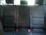 Rear seats 2017 VolkswagenGolf