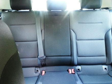 Volkswagen Golf rear seats