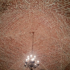 Vaulted Ceiling of the monks refectory, Cotroceni Palace