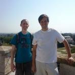 On the top of Chindiei Tower,Targoviste