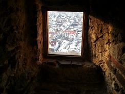 Window View from Rasnov Citadel