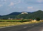 Panoramic View to Rasnov Citadel,Transylvania