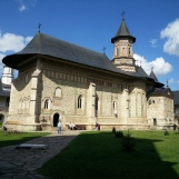 The iconic Neamt Monastery, Romania