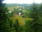 Rural landscape in Apuseni Mountains,Romania