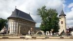 The vestiges of the Princely Court of Piatra Neamt, Moldova,Romania