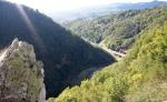 Arges River Valley seen fromPoenari