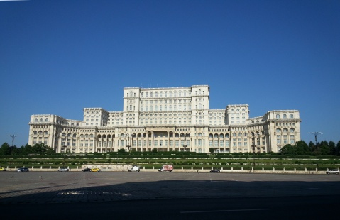 Bucarest, Palacio del Parlamento