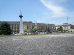 Bucarest, vista hacia el PalacioReal