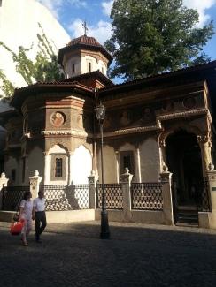 Centro histórico de Bucarest, Iglesia de Stavropoleos