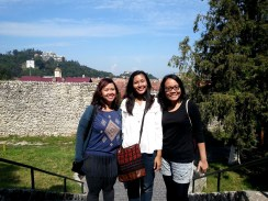 Guests from Indonesia in Brasov, Transylvania