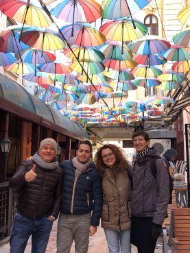 Bucharest tour with Silvana