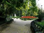 Alley in Cismigiu Garden,Bucharest
