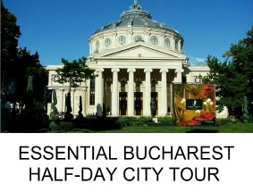 ESSENTIAL BUCHAREST HALF-DAY PRIVATE CITY TOUR