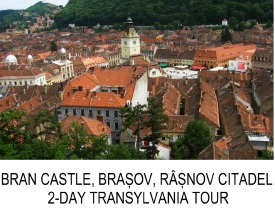 2-day Transylvania private tour Bran Castle Peles Castle Brasov Rasnov Citadel