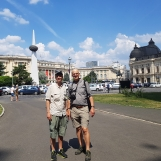 Touring Bucharest on a wonderful summer day, June 2018