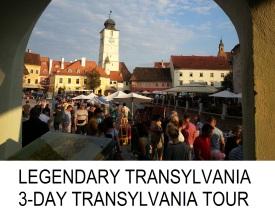 Legendary Transylvania 3 day tour Brasov Sighisoara Sibiu