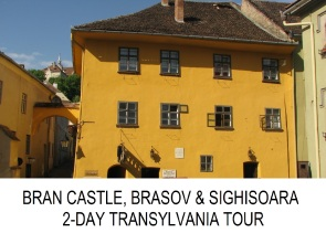Transylvania 2-day private tour Bran Castle Brasov Sighisoara