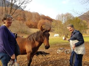 Transylvania October trip Nancy & Susan