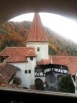 October colors at Bran Castle,Transylvania