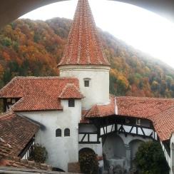 October colors at Bran Castle, Transylvania