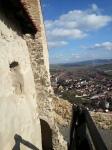 View from Rupea Citadel,Transylvania